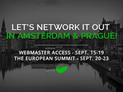 CrakRevenue 2016 Euro-Networking!